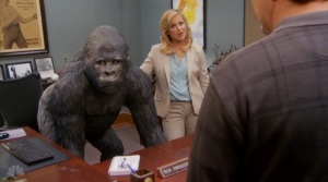 The Gorilla Statue